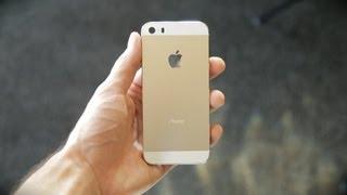 New Gold iPhone 5S Sneak Peek (vs iPhone 5 Teardown) thumbnail