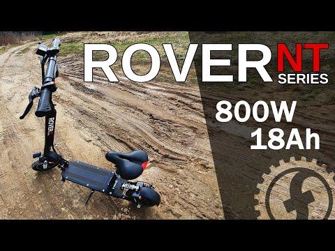 Обзор электросамоката с сиденьем Rover NT   800W 48V 18Ah