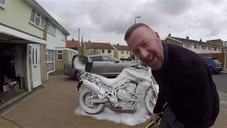 SNOWFOAM JET WASH YOUR MOTORBIKE ? MARK SAVAGE