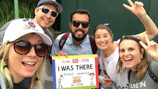 Toy Story Land Opening Day VIP Private Tour!