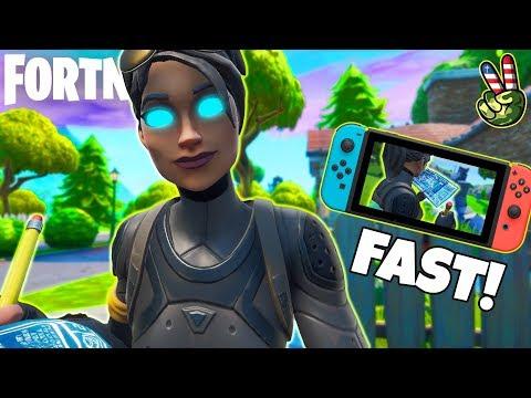 Fastest Fortnite Nintendo Switch Editor!
