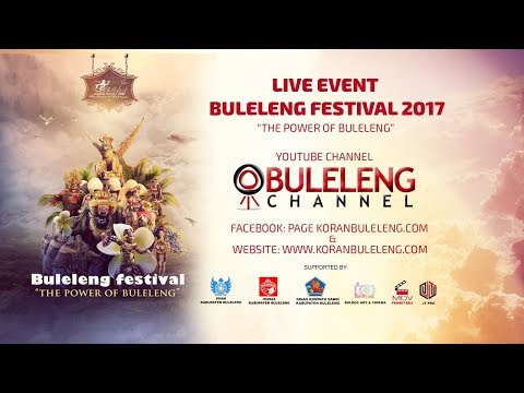 "Buleleng Channel Live Streaming Buleleng Festival 2017 ""The Power Of Buleleng"""