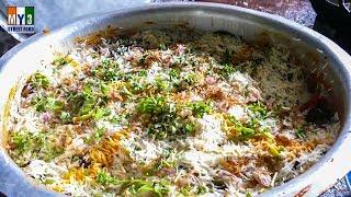 Hyderabadi Chicken Dum Biryani Step by Step | RAMZAN RECIPES FOR IFTAR street food