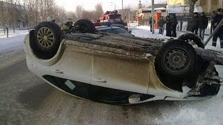 Fail Compilation of Driving in Russia JANUARY 2016 #7