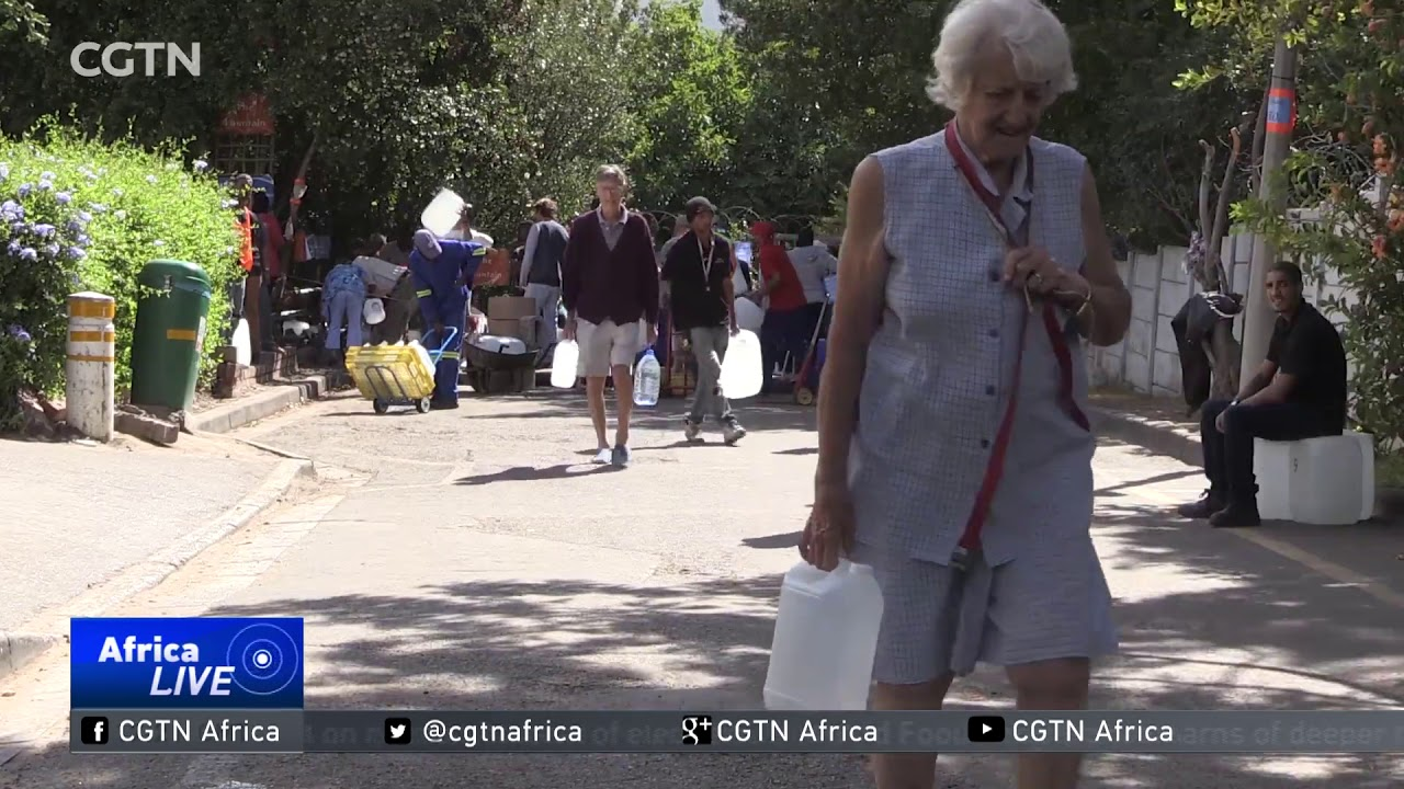 South Africa to declare national disaster in drought-ravaged Western Cape.