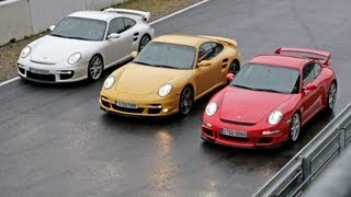 Porsche im Vergleich - Walter Röhrl sucht den besten 911er