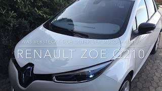 Renault ZOE - Was steckt unter der Motorhaube?