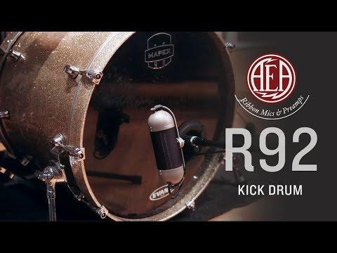 AEA R92 - Kick Drum - Listening Library