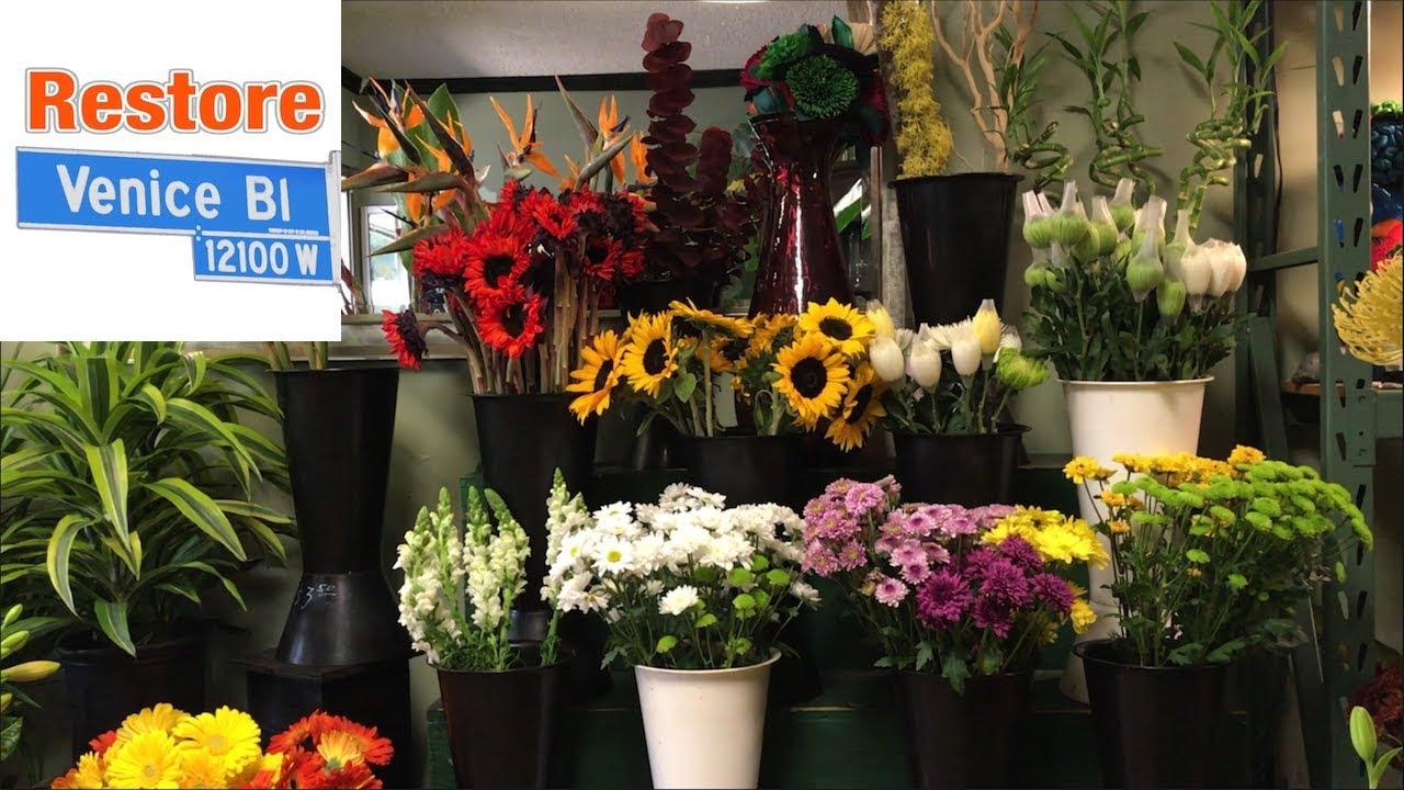 Brendas Flowers Venice Blvd Road Diet Forces Customers To Shop