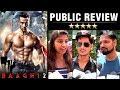 Baaghi 2 PUBLIC REVIEW | Tiger Shroff, Disha Patani | Sajid Nadiadwala