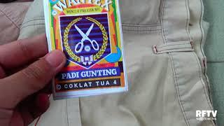 Coba wantex celana dan hasilnya?