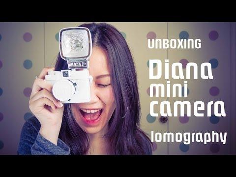 Unboxing: Lomography Diana Mini