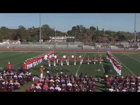 Camp Pendleton Battle Colors Ceremony
