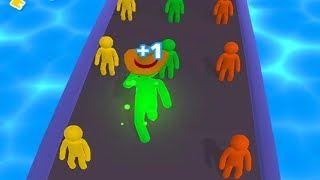 Giant Rush! - All Levels Gameplay Android iOS (Levels 1-5)