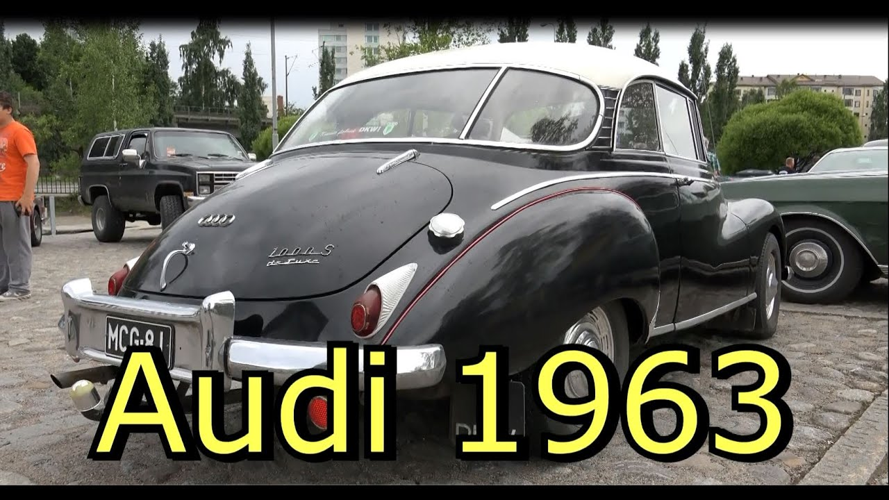 1963 Audi AU DKW 1000 S Coupe -Old Classic car - YouTube