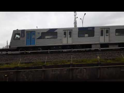 Trecho entre Tatuapé e Belém no TUE K22 - Linha 3 Vermelha