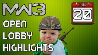 MW3: Open Lobby Highlights (July 20th)