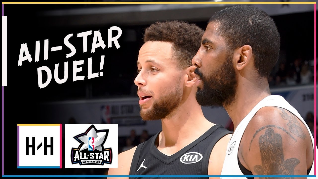 Kyrie Irving vs Stephen Curry ELITE PG Duel Highlights at 2018 All Star Game ! a34754604