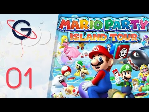 Mario Party island tour | Let's Play #1: Royaume des Objets [FR]