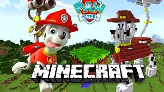 ЩЕНЯЧИЙ ПАТРУЛЬ в МАЙНКРАФТ - Создаём Маршала в Майнкрафте. Minecraft #7 Развивающий мультик