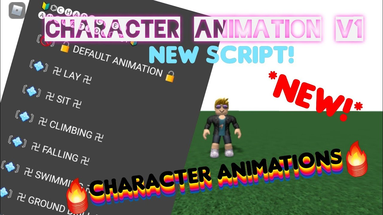 Roblox New Character Animation Script Roblox Hack Mobile
