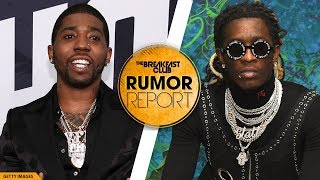 Young Thug And YFN Lucci Feud Heats Up