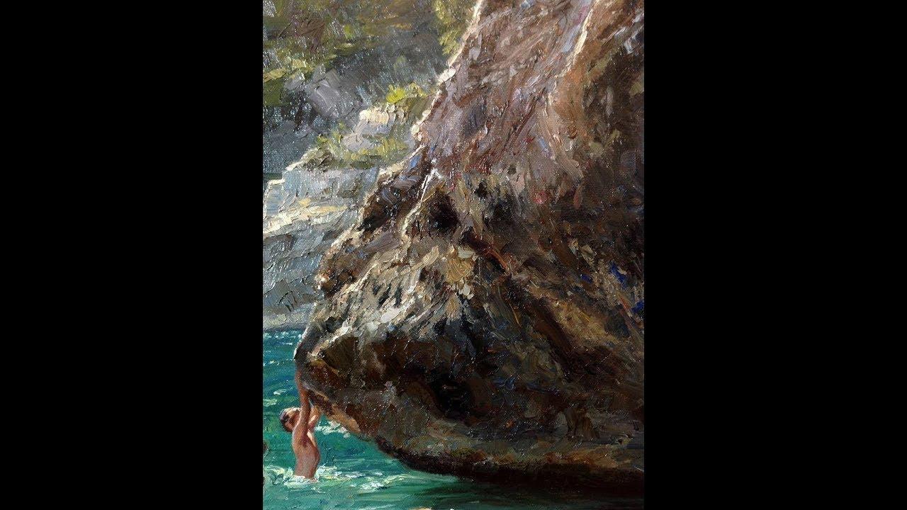Video 26 Dipingere Le Rocce Parte 1 Pintar As Rochas Parte 1