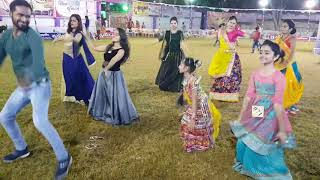 kaka bapa na poriya garba at apple green party plot