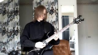 lords of thunder llamarada guitar cover by ansgaros