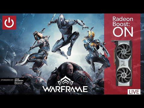 Using Radeon Boost In Warframe [RX 6700 XT, 4K, Max]