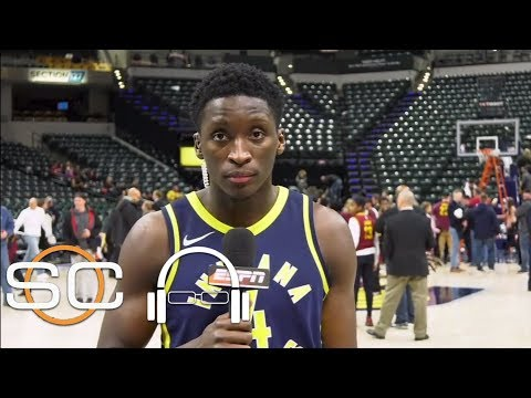 Victor Oladipo credits Pacers teammates in win over Cleveland Cavaliers | SC with SVP | ESPN