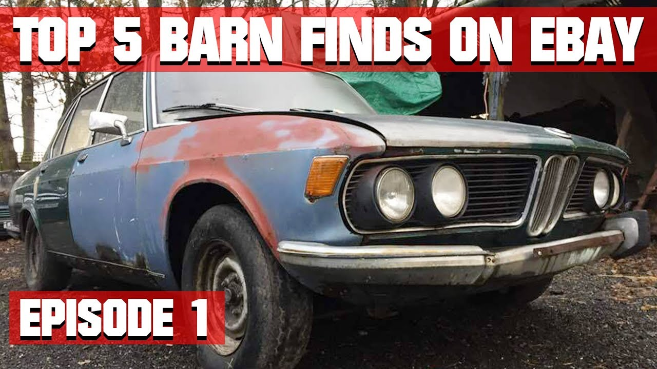 Top 5 Barn Find Projects On Ebay This Week