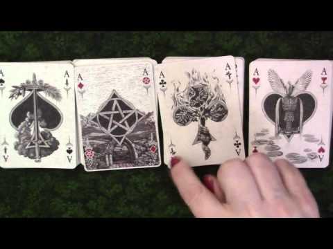 Arcana Tarot Playing Cards & Reading Playing Cards