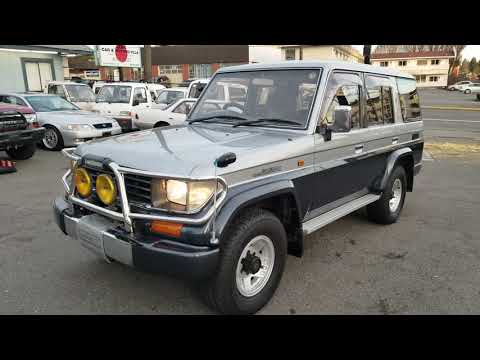 FOR SALE : Toyota Land-cruiser Prado 78 EX Wide 1993 1KZ-TE