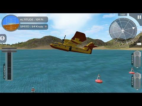 Avion Flight Simulator (Canadair CL 415) Android Game