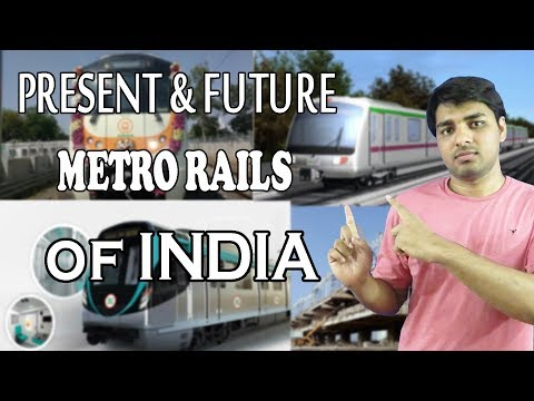 Upcoming Metro Rails in INDIAN Cities || Under Construction Metro Rails in INDIAN Cities
