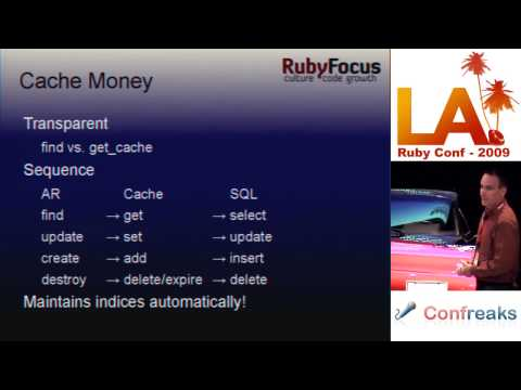LA RubyConf 2009 - Scaling 'most popular' lists: a plugin solution