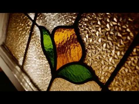 Stained glass kitchen cabinet designs