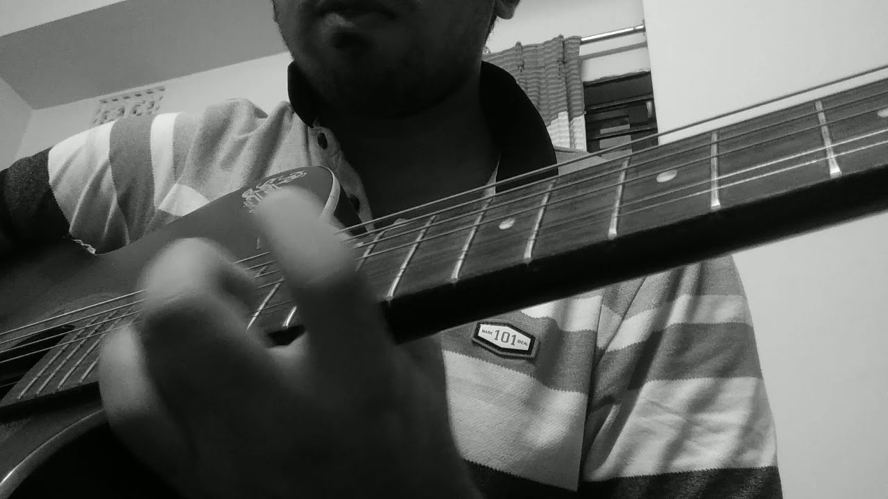 Sad violin solo cover on guitar   sad meme song acoustic ...
