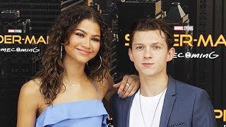 Zendaya and Tom Holland Spend Time Together - Cute Moments - [2017]
