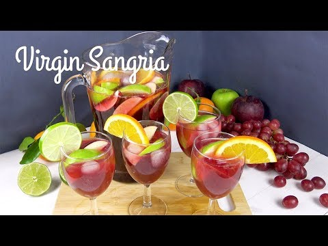Virgin sangria | WCRF UK Healthy Recipes