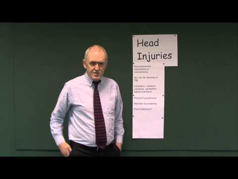 Head Injuries 13, Management principles
