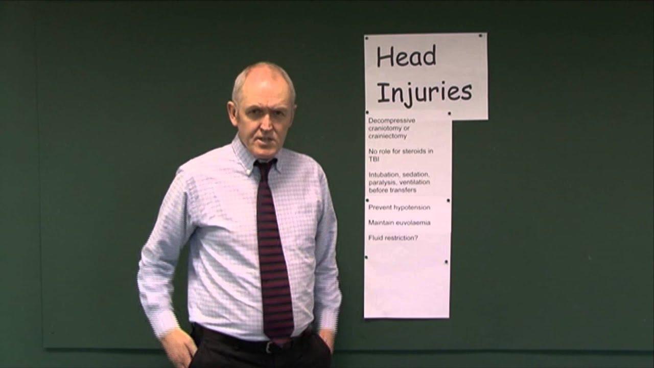 Head Injuries 13, Management principles