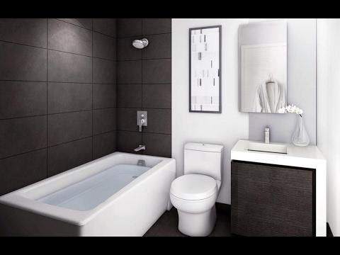Дизайн в маленькой ванной комнате
