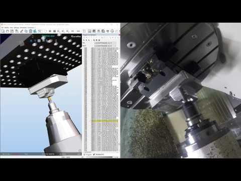 MILL-TURN - GROB G350 - Eureka Virtual Machining 8.1