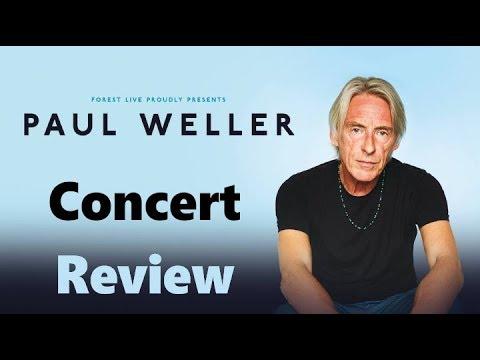 Paul Weller Concert Review Edinburgh Castle 11th July 2019