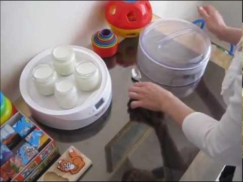 Кефир в йогуртнице.