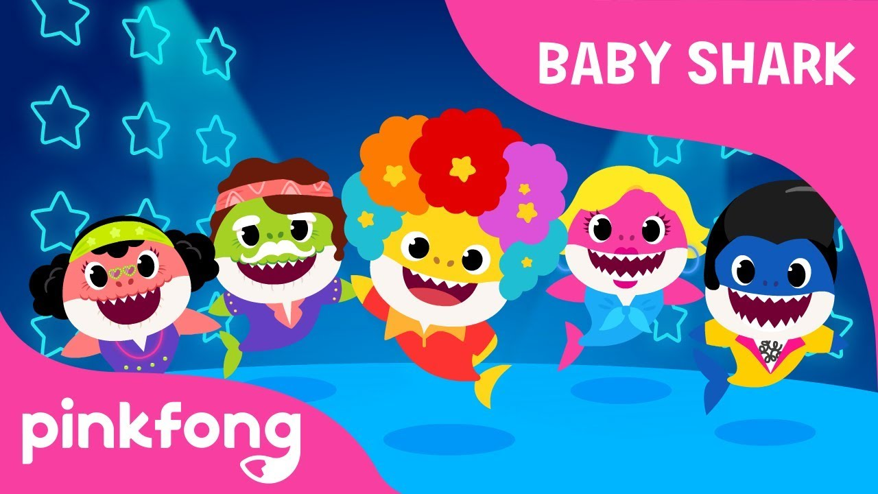 Disco Sharks | Baby Shark | Pinkfong Songs for Children