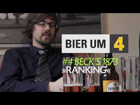 Bier um Vier | Staffel 4 | #4 Beck's 1873 Ranking
