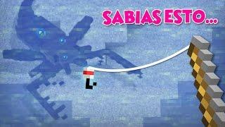 VIDEOS DE MINECRAFT | SABIAS ESTO DE LA PESCA?